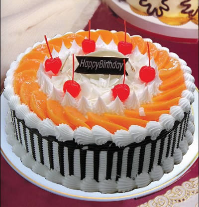 金塔生日蛋糕-红红火火