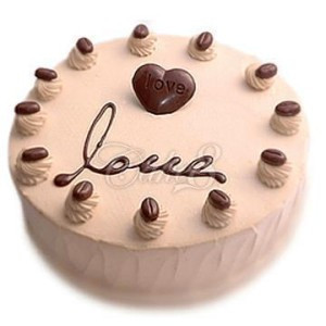 友谊巧克力蛋糕:巧克力甜心