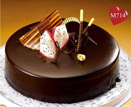 曲松县巧克力蛋糕:浓情