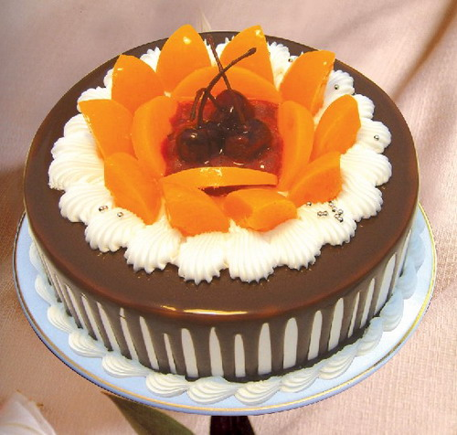 友谊巧克力蛋糕:爱浓情亦浓