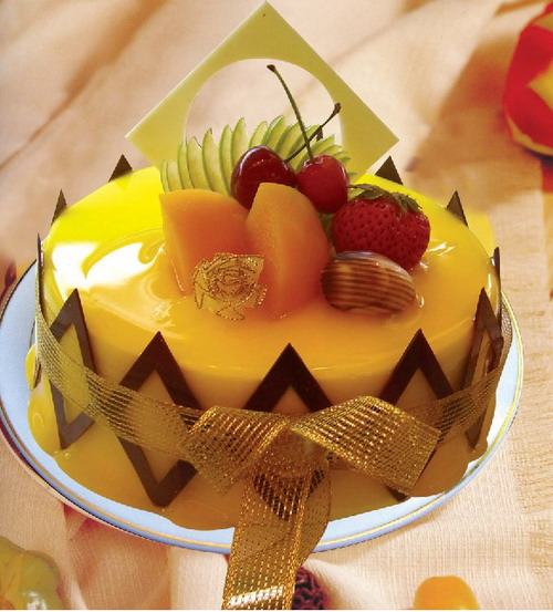 六安水果蛋糕:月光