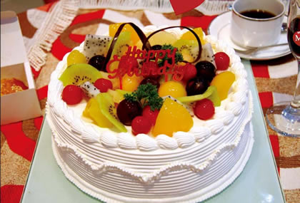 双鸭山岭东区双鸭山岭东区生日蛋糕-依恋