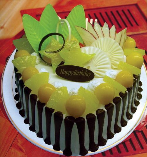 蛋糕:深情
