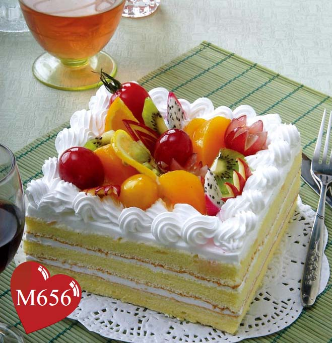 双鸭山岭东区订蛋糕:幸福果园