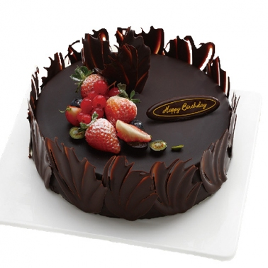 友谊巧克力蛋糕:巧克力的爱恋