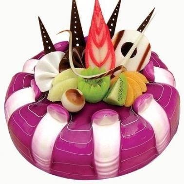 平顶山卫东区水果蛋糕:蓝莓之恋