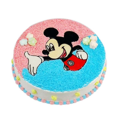双鸭山岭东区蛋糕预定:米老鼠