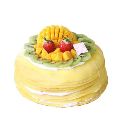 双鸭山岭东区网上订蛋糕:芒果千层